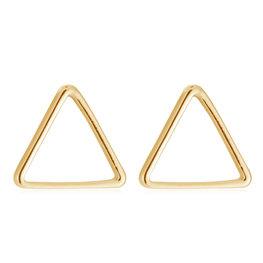 Oorbellen Open Driehoekje goud